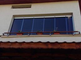 Права стъклена система - тип ХАРМОНИКА - Изображение 3