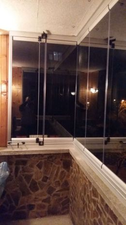 Стара Загора П-образна тераса - Glass systems - Пловдив